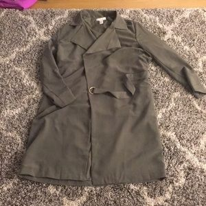 H&M Olive green trench